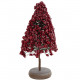 Berry tree, H33cm, D18cm, frost red